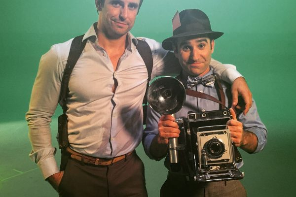 Henry Danger Star Cooper Barnes and Ben Giroux Shoot Comedy Film Noir