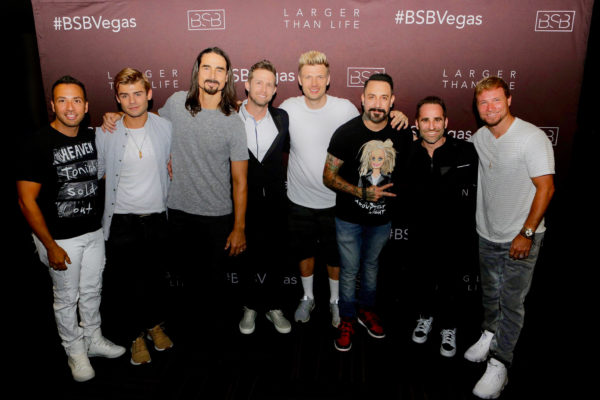 Ben Giroux Joins Backstreet Boys in Las Vegas