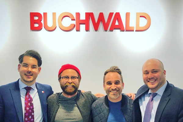 Ben Giroux Signs with Buchwald for Digital Representation