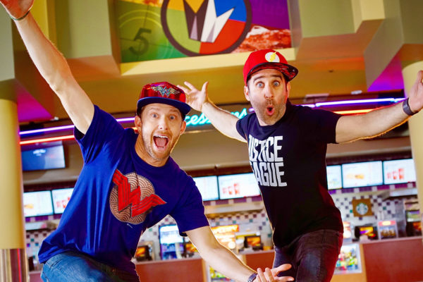 "Ben & Jensen Partner with DC Comics & Regal Cinemas for ""Superhero Showtime"" Music Video"