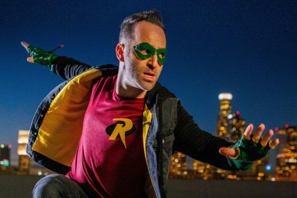 "Ben Giroux is the Voice of Robin in ""Batman vs. Teenage Mutant Ninja Turtles"""