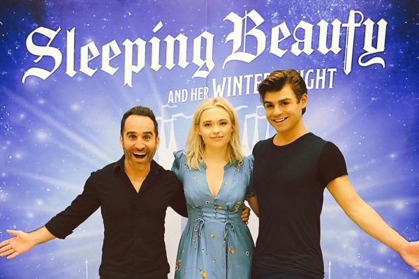 "Houston's ""Sleeping Beauty"" stars Ben Giroux, Garrett Clayton, and Lauren Taylor"