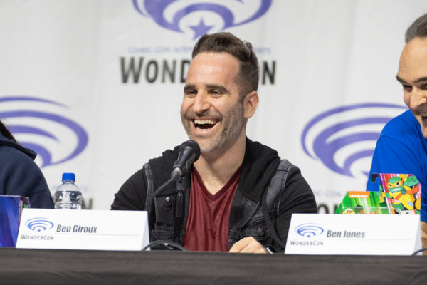 "Ben Giroux Attends WonderCon to Premiere ""Batman vs. TMNT"""